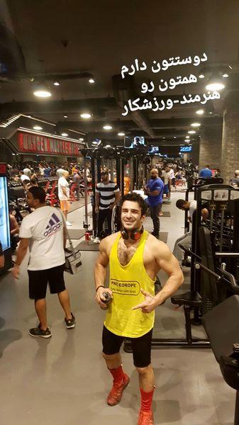 یوسف تیموری در باشگاه ورزشی کویت+عکس