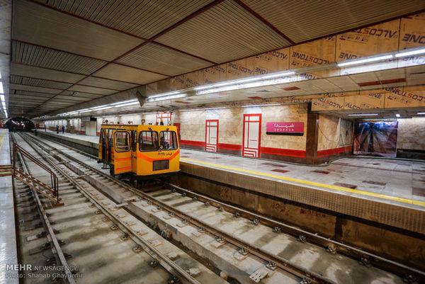 ادامه خط ۴ مترو تهران بعد از یکسال تکمیل نشد