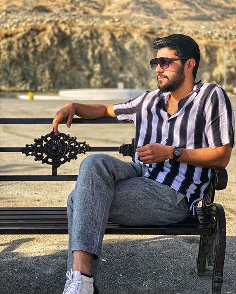 تیپ متفاوت حامد سریال پدر+عکس