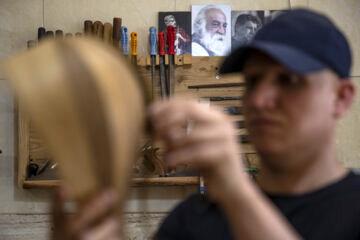 چگونه ساز ایرانی می سازند ؟ + تصاویر