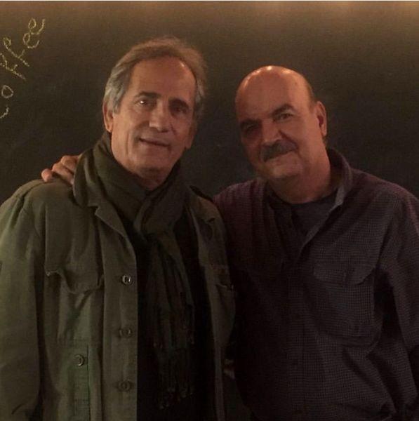 ایرج طهماسب در کنار مجید مظفری + عکس