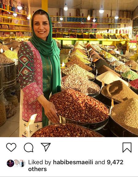 فریبا کوثری در سفر به خراسان+عکس