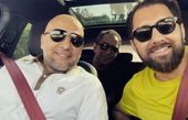 بهرام رادان در سفر لاهیجان با دوستان+عکس