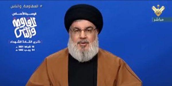 سخنرانی دبیر کل حزب الله لبنان به مناسبت سالروز شهادت «عماد مغنیه»