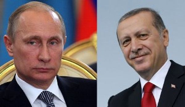 پیام تبریک اردوغان برای پوتین!