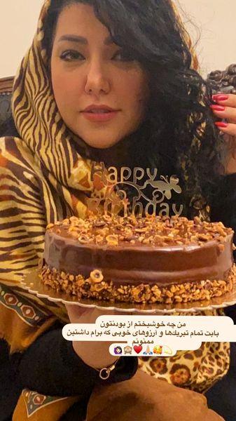 تولد ساده همسر شهاب حسینی + عکس