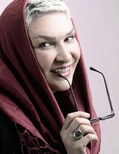 بازیگر زن ایرانی از بی پولی نقاش ساختمان شد+عکس