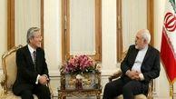 دیدار نماینده دبیرکل سازمان ملل در امور افغانستان با ظریف