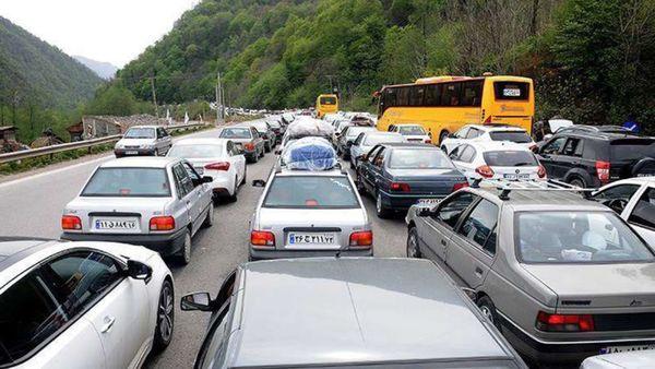 افزایش ۸۱ درصدی خودروهای ورودی به مازندران