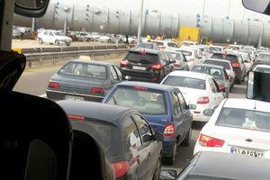 آخرین وضعیت ترافیکی در محورهای استان ایلام