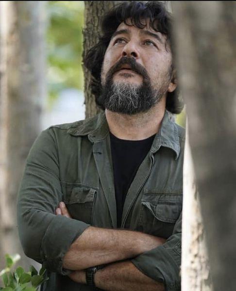 امیرحسین صدیق در دل جنگل + عکس