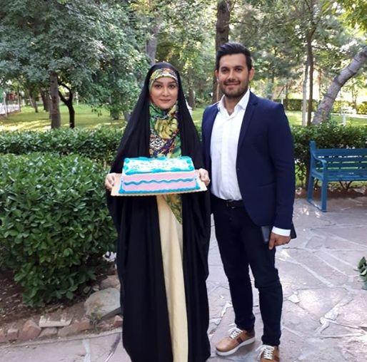 سوپرایز تولد مژده خنجری توسط شوهرش+عکس