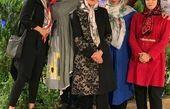 گردش خانم مجری با دوستانش+عکس