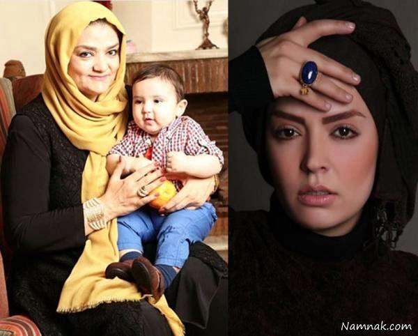 مادر و پسر بازیگر افغانی بوی باران+عکس
