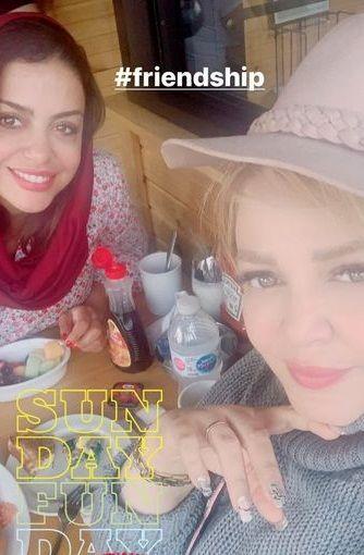 رستوران گردی دو خانم بازیگر در کانادا+عکس