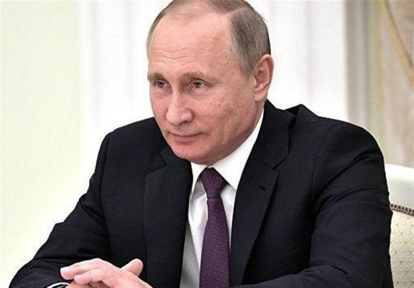 پیام پوتین به سران کشورهای عربی