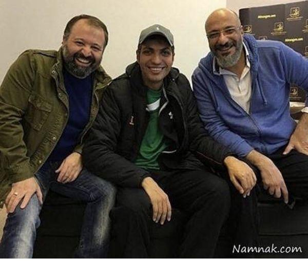 عادل فردوسی پور در کنار دو کمدین معروف + عکس