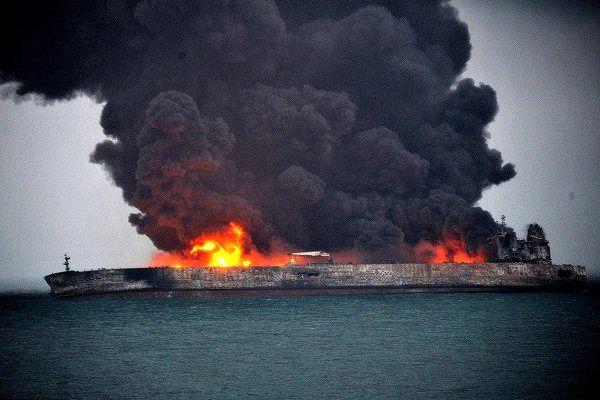 نفتکش غرقشده ایرانی در لیست تحریمی آمریکا قرار دارد!