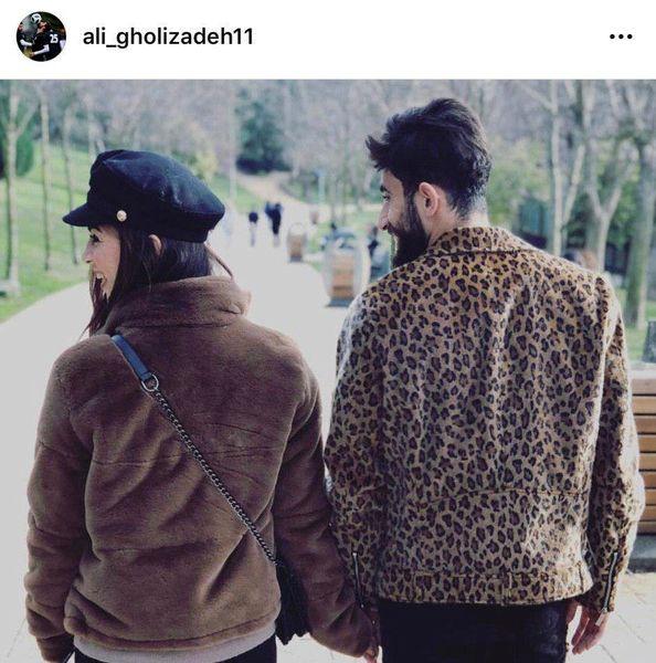 اینستاگرام:ازدواج علی قلیزاده با بازیکن فوتبال بانوان ملوان