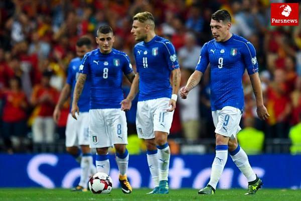 کورسوی امید ایتالیا برای راهیابی به جام جهانی 2018 برباد رفت