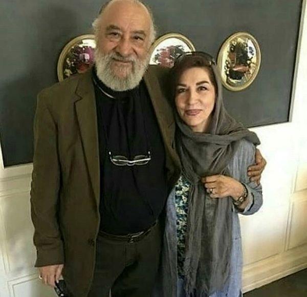 حشمت خان فردوس ستایش در کنار همسرش + عکس