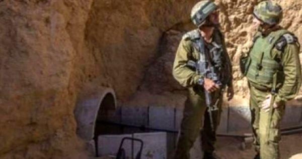 رژیم صهیونیستی مدعی کشف و انهدام یک تونل مقاومت در شمال غزه شد