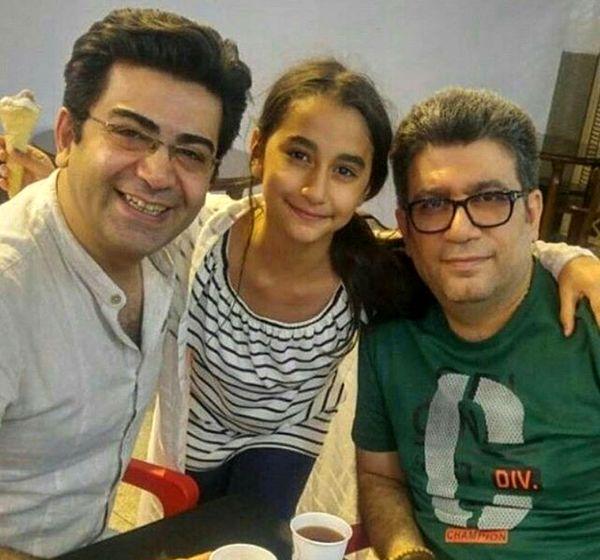 دختر رضا رشیدپور در کنار دو مجری جنجالی تلویزیون+عکس