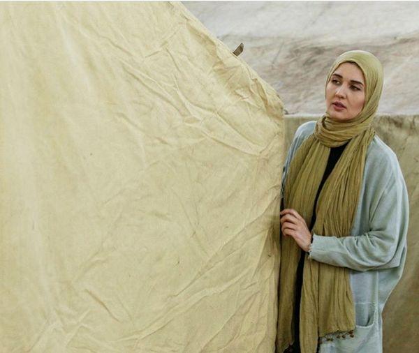 هنرنمایی همسر خارجی ساعد سهیلی در سریال بازیگر + عکس