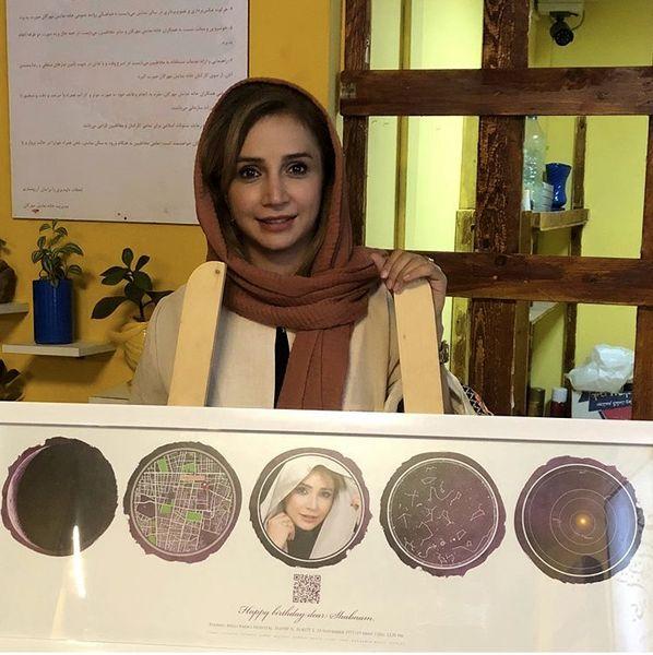 هدیه زیبا شبنم قلی خانی + عکس