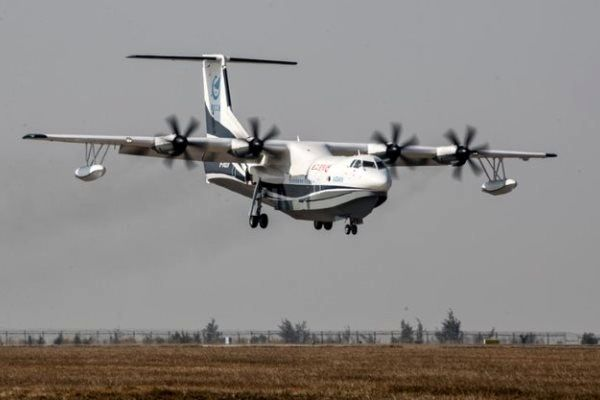 چین بزرگترین هواپیمای دوزیست جهان را تا ۲۰۲۲ به بازار عرضه میکند