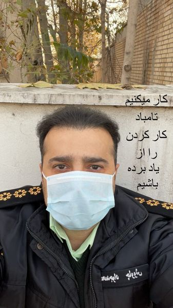 سپند امیر سلیمانی در لباس نظامی + عکس