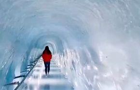 تونل یخی شگفت انگیز+ فیلم