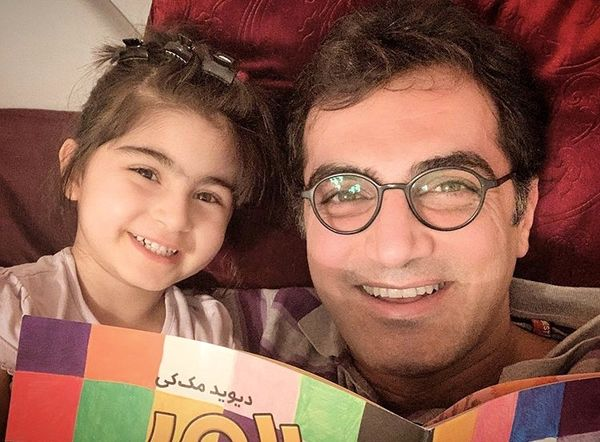 کوروش سلیمانی و دخترش + عکس