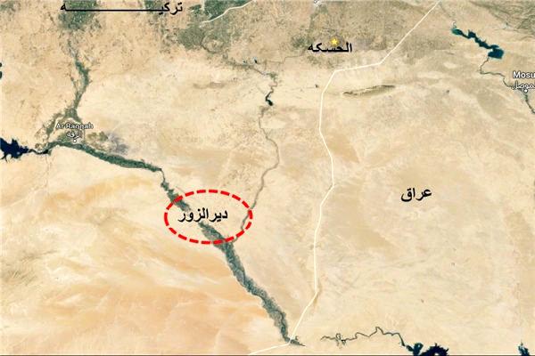 نظامیان وابسته به شیخ نشینها در حومه دیرالزور