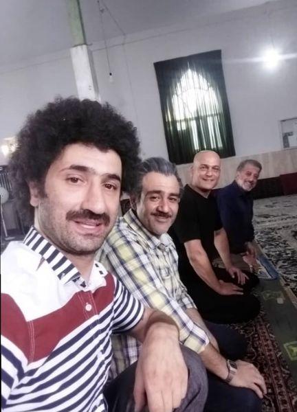 همبازی های جدید مهران غفوریان + عکس