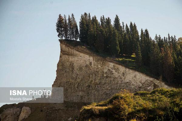 کوه های شمال نیست و نابود شدند + عکس