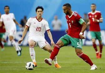 خاطره بازی مدافع مراکش از تقابل با ایران و جام جهانی