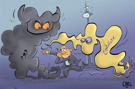 کاریکاتور بد و بدتر پایتخت!