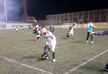 جنایت صهیونیستها این بار در زمین فوتبال