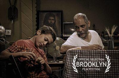 فیلم تازه نادر فلاح راهی بروکلین شد + عکس