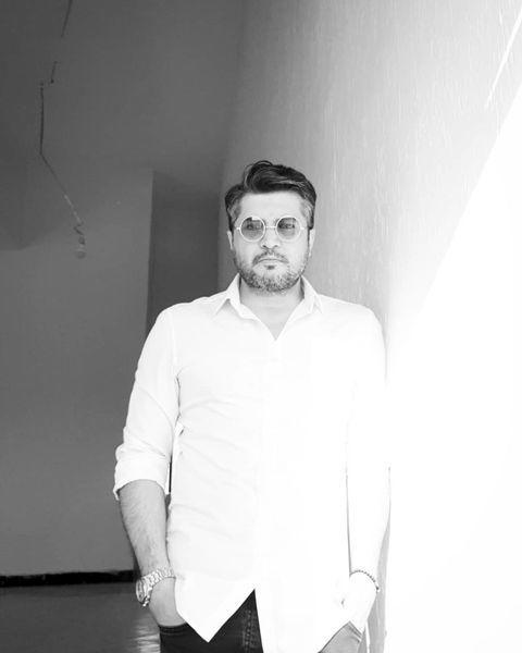 پندار اکبری به رنگ سیاه و سفید + عکس