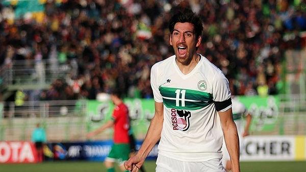 بدشانسی برای بازیکن ایرانی