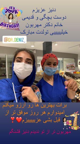 دوست دندانپزشک دریا مرادی دشت + عکس