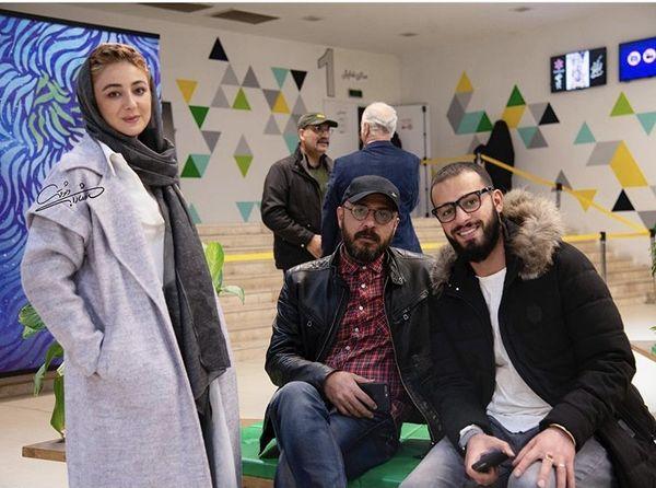 بازیگران آبان یازده ۶۰ در اکران عمومی + عکس