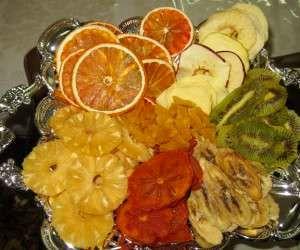 روش خشک کردن میوه ها در خانه