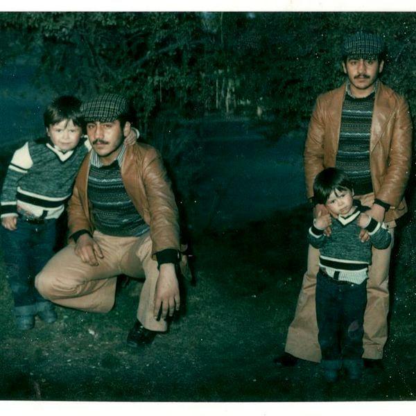 لاغری زیاد خسرو احمدی در جوانی + عکس