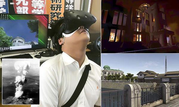 بمباران هیروشیما با سیستم واقعیت مجازی بازسازی شد