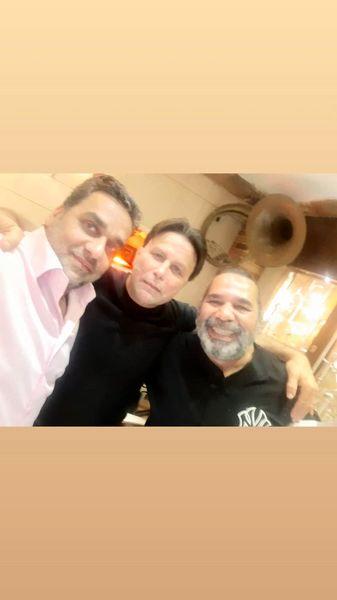 داریوش سلیمی در کنار دوستانش + عکس