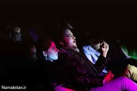 مهدی سلوکی و همسرش در کنسرت محمد علیزاده