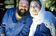 عکس عاشقانه نرگس محمدی و علی اوجی کنار برج ایفل